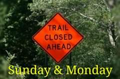 **Announcement** Closed Sunday & Monday ONLY.