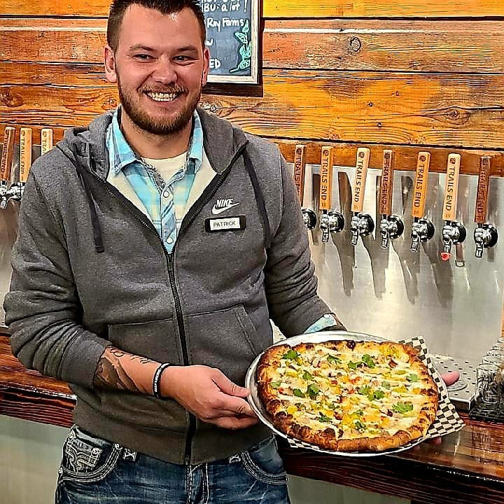 Week 5 of our TRAIL GUIDE pizza contest is Patrick with his CPR! This pizza has a to…